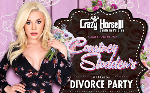 Courtney Stodden Divorce Party at Crazy Horse 3 Geneltmen's Club